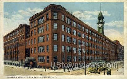 Bausch & Lomb Optical Co. - Rochester, New York NY Postcard