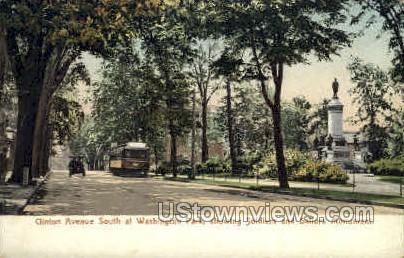 Clinton Avenue - Kingston, New York NY Postcard