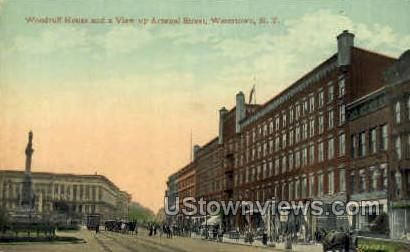 Woodruff House - Watertown, New York NY Postcard