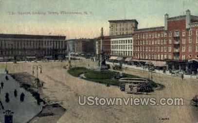The Square - Watertown, New York NY Postcard