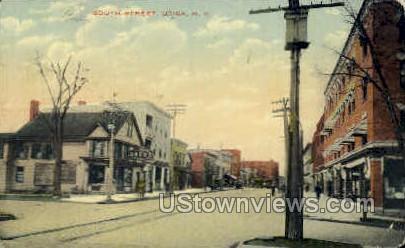 South Street - Utica, New York NY Postcard