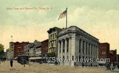 Trust and Deposit Company - Utica, New York NY Postcard