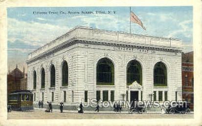 Citizens Trust Company - Utica, New York NY Postcard