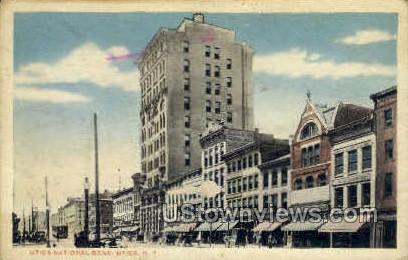 National Bank - Utica, New York NY Postcard