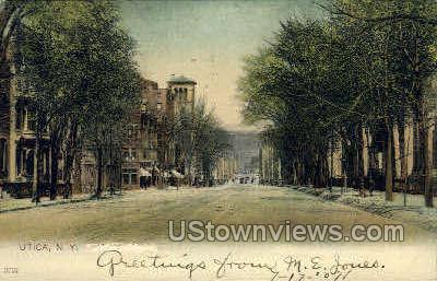 Utica, NY, New York Postcard