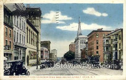 From Washington Street - Utica, New York NY Postcard