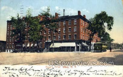 Baggs Hotel - Utica, New York NY Postcard