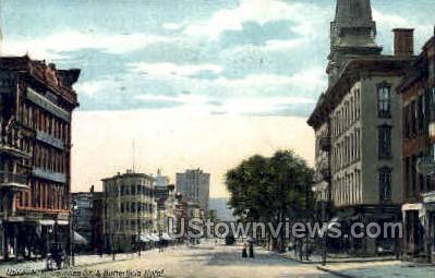 Butterfield Hotel - Utica, New York NY Postcard