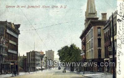 Butterfield house - Utica, New York NY Postcard