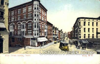 River Street - Troy, New York NY Postcard