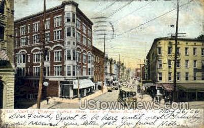 Troy, NY, New York Postcard