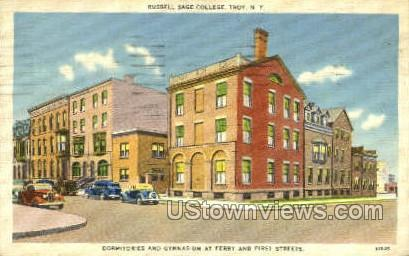 Russell Sage College - Troy, New York NY Postcard