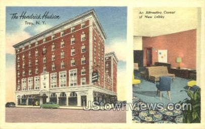 The Hendrick Hudson - Troy, New York NY Postcard