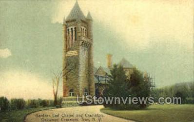 Gardener Earl Chapel & Crematory - Troy, New York NY Postcard