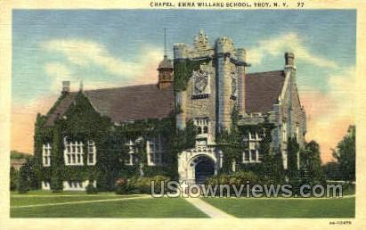 Emma Willard School - Troy, New York NY Postcard