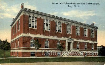 Rensselaer Polytechnic Institute Gym - Troy, New York NY Postcard