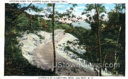 Eastern Slope, Taconic Trail - Troy, New York NY Postcard