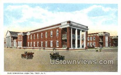 New Samaritan Hospital - Troy, New York NY Postcard
