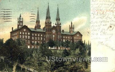 Troy Provincial Seminary - New York NY Postcard