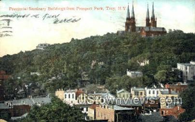 Provincial Seminary Bldgs. - Troy, New York NY Postcard