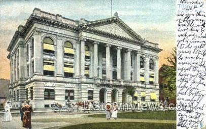 New Court House - Troy, New York NY Postcard