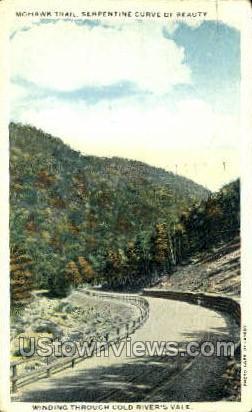 Mohawk Trail - Troy, New York NY Postcard