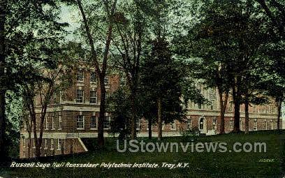Rensselaer Polytechnic Institute - Troy, New York NY Postcard