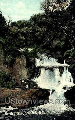Burden Falls - Troy, New York NY Postcard