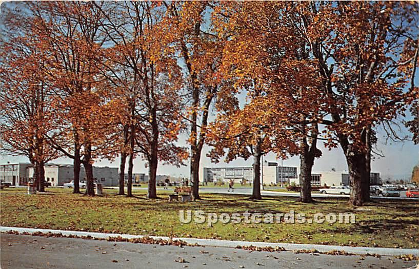 Hudson Valley Community College - Troy, New York NY Postcard