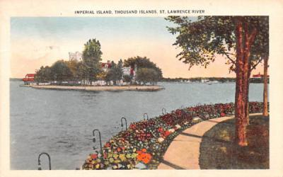 Imperial Island Thousand Islands, New York Postcard