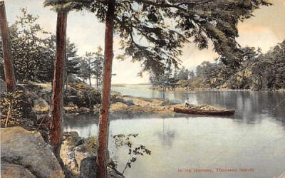 In the Narrows Thousand Islands, New York Postcard