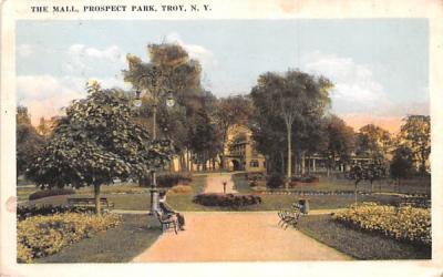 The Mall Troy, New York Postcard