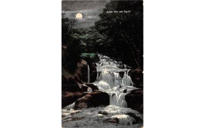 Burden Falls Troy, New York Postcard