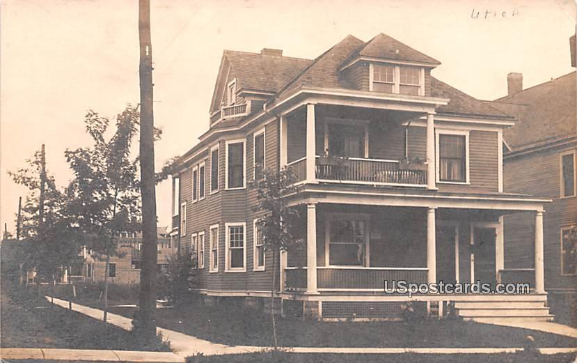 Residence - Utica, New York NY Postcard