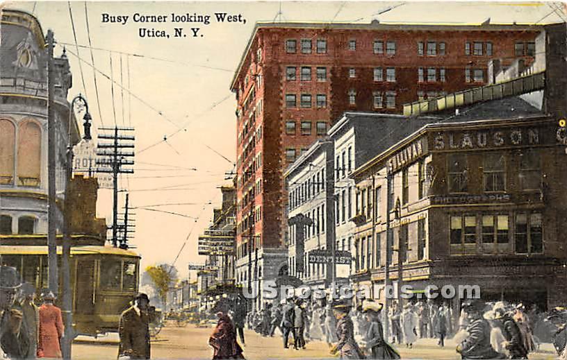 Utica, New York, NY Postcard
