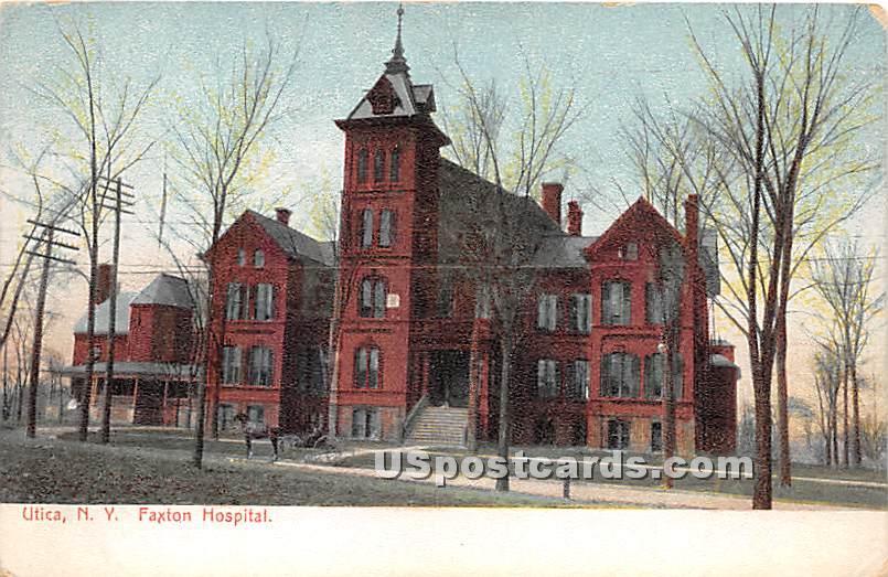 Faxton Hospital - Utica, New York NY Postcard