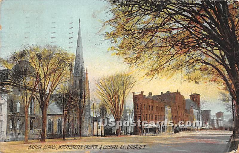 Balliol School - Utica, New York NY Postcard