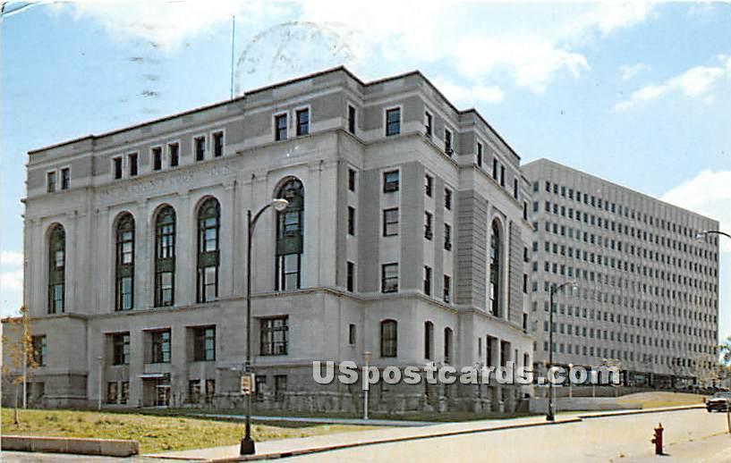 Oneida County Court House - Utica, New York NY Postcard