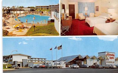 Country Squire Motel Utica, New York Postcard