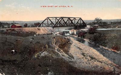 Bridge Utica, New York Postcard