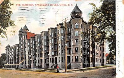 The Olbiston Utica, New York Postcard