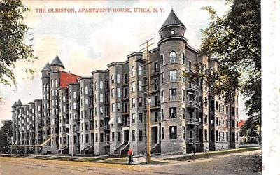 The Olbiston Utica, New York Postcard