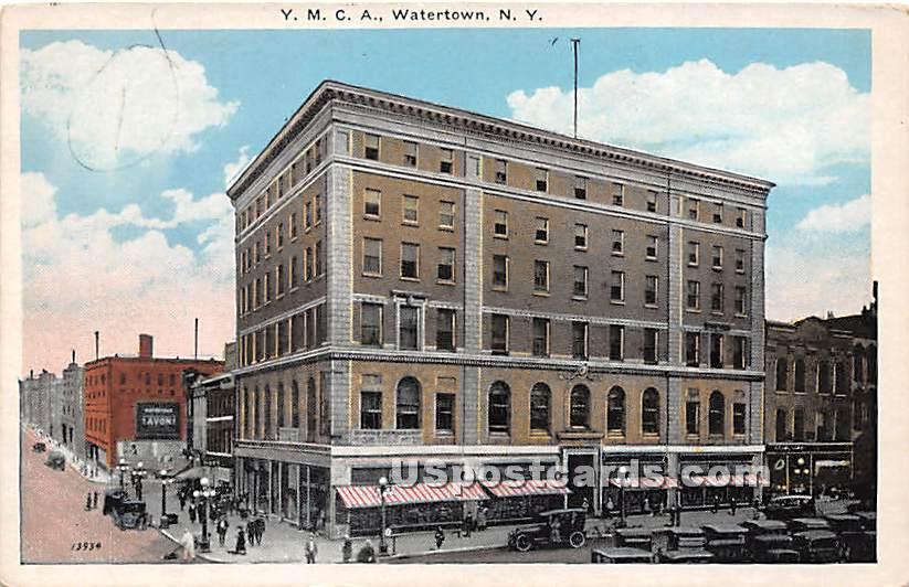YMCA - Watertown, New York NY Postcard