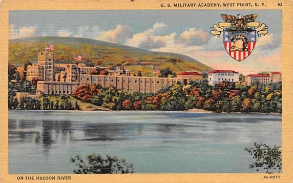 US Military Academy West Point, New York Postcard