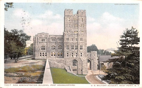 New Administration Building West Point, New York Postcard