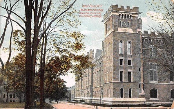 Academic Building West Point, New York Postcard