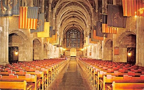 Interior of Cadet Chapel West Point, New York Postcard