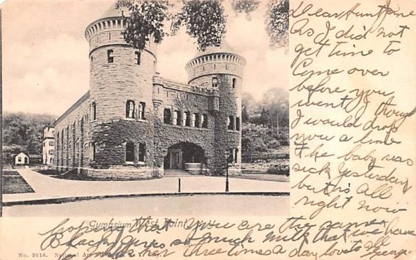 Gymnasium West Point, New York Postcard
