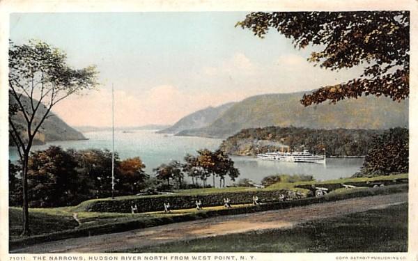 Narrows West Point, New York Postcard