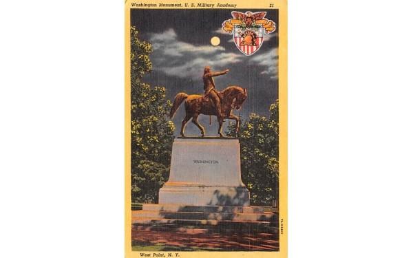 Washington Monument West Point, New York Postcard